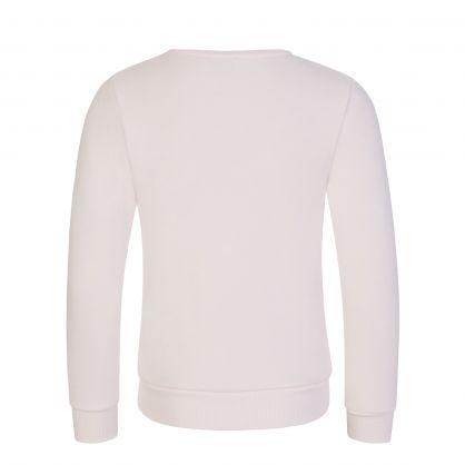 Pale Pink Astrology Elephant Sweatshirt