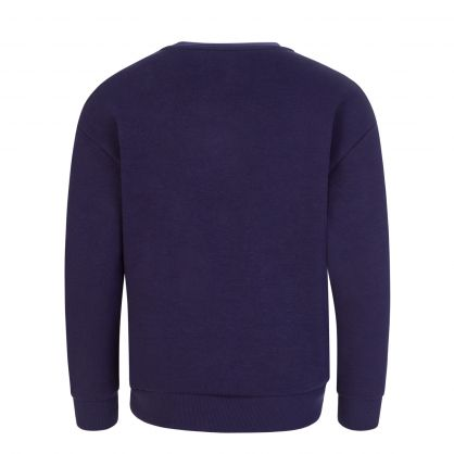 Navy Blue Elephant Sweatshirt