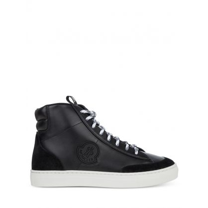 Black High-Top Ange Trainers
