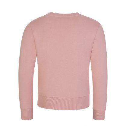 Pink Logo Lettering Sweatshirt
