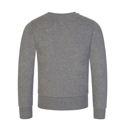 Grey Lettering Logo Sweatshirt