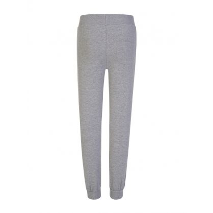 Kids Grey Jigsaw Bear Logo Sweatpants
