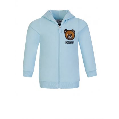 Kids Blue Baby Hooded Tracksuit