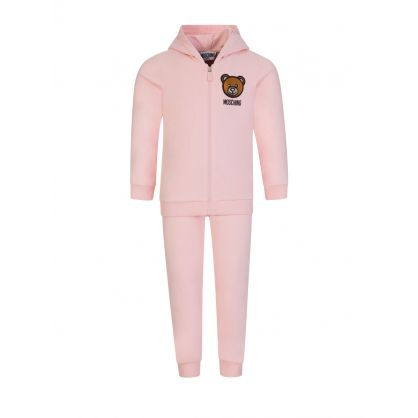 Kids Pink Tracksuit