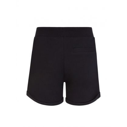 Kids Black Bear Logo Shorts