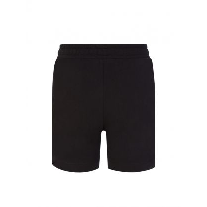 Kids Black Milano Logo Shorts