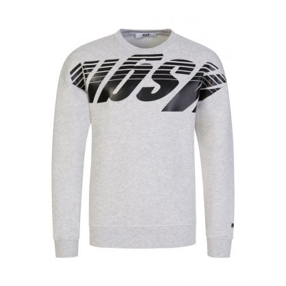 Kids Grey Speeding Logo Sweatshirt