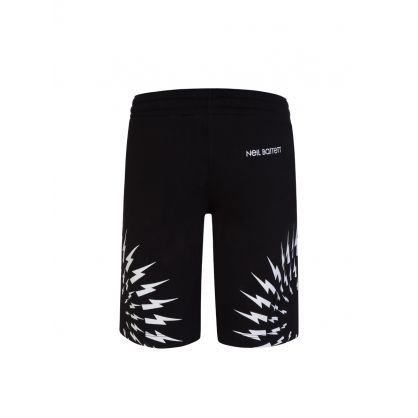 Kids Black Fleece Thunderbolts Shorts