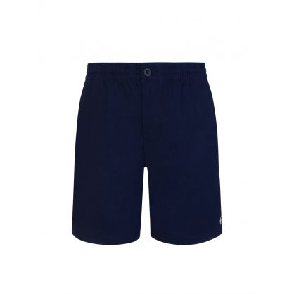 Kids Navy Prepster Stretch Twill Shorts