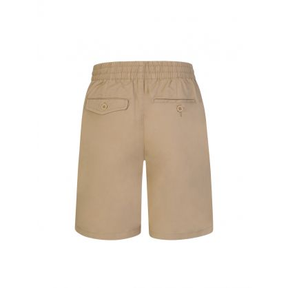 Kids Khaki Prepster Stretch Twill Shorts