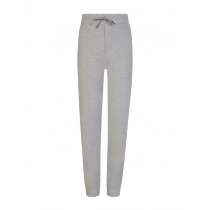 Kids Grey Cotton Mesh Jogger Sweatpants