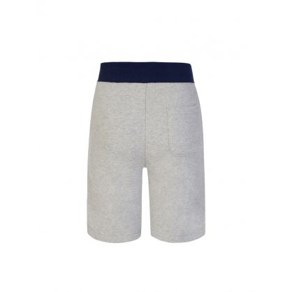Kids Grey Logo Fleece Pull-On Shorts