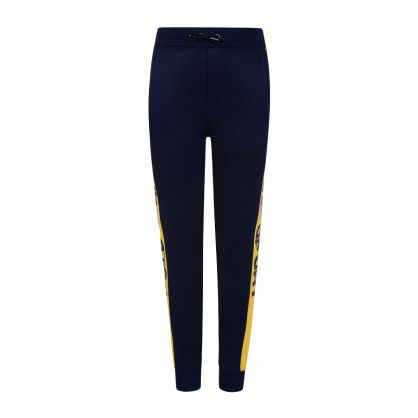 Kids Navy Polo Sport Track Sweatpants