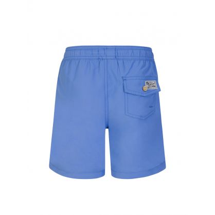 Kids Blue Traveler Swim Shorts
