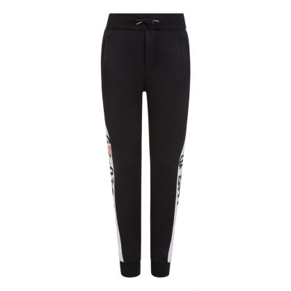 Black Fleece Track Pants