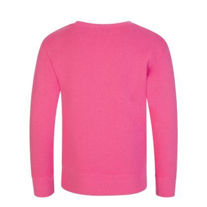 Pink Fleece Sweatshirt