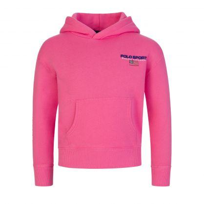 Pink Fleece Hoodie