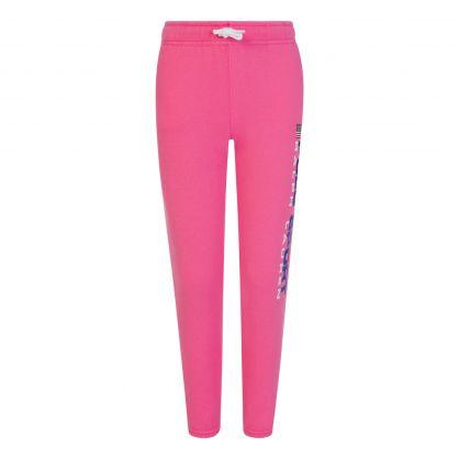 Pink Fleece Sweatpants