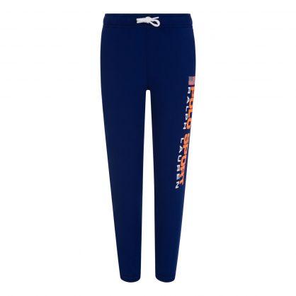 Royal Blue Fleece Sweatpants