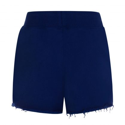 Royal Blue Fleece Shorts