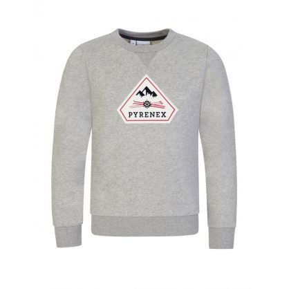 Kids Grey Charles Sweatshirt