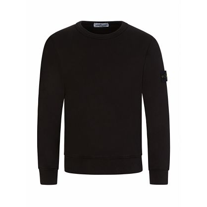 Junior Black Classic Compass Sweatshirt