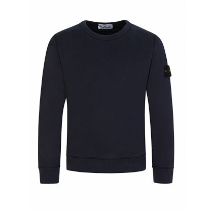 Junior Navy Compass Sleeve Sweatshirt
