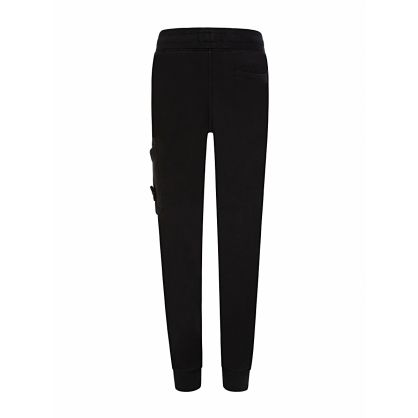 Junior Black Fleece Compass Sweatpants