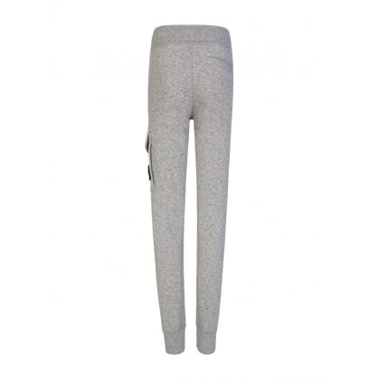 Junior Grey Fleece Compass Sweatpants