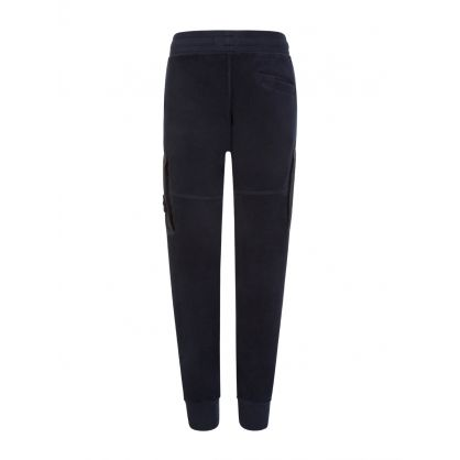 Junior Navy Fleece Sweatpants