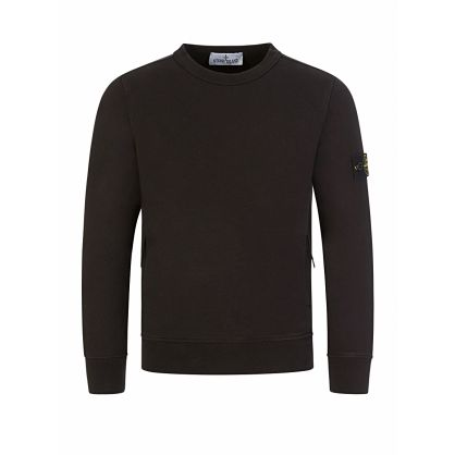 Junior Black Essential Compass Sweatshirt