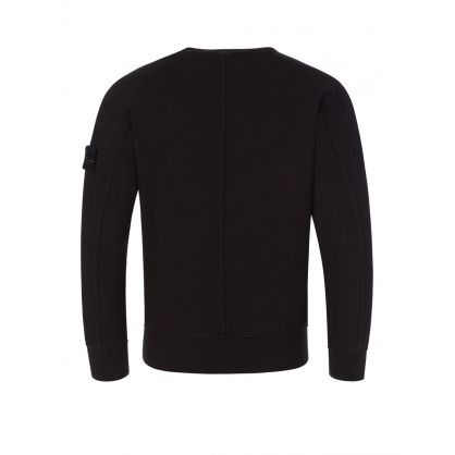 Junior Black Chest Pocket Sweatshirt