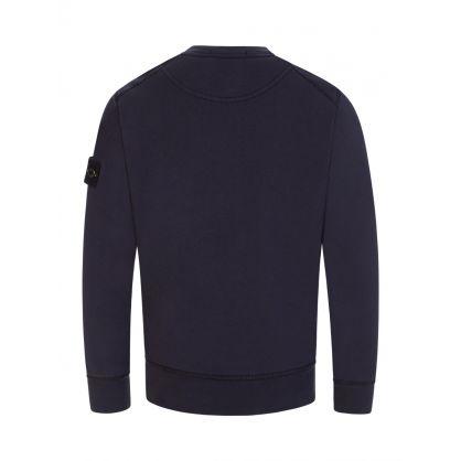 Junior Navy Cotton Sweatshirt