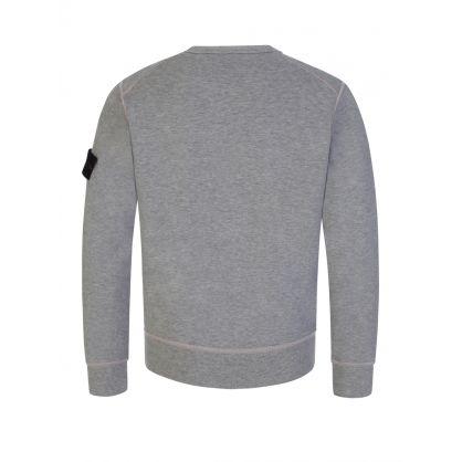 Junior Grey Cotton Sweatshirt