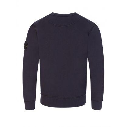Junior Black Luminescent Logo Sweatshirt