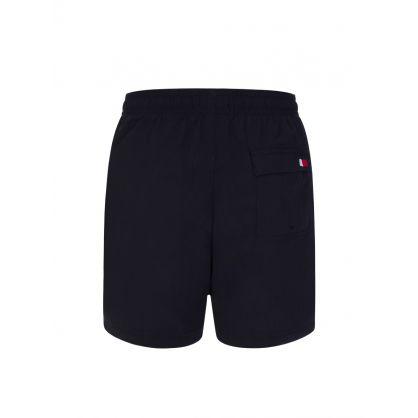 Kids Navy Drawstring Shorts