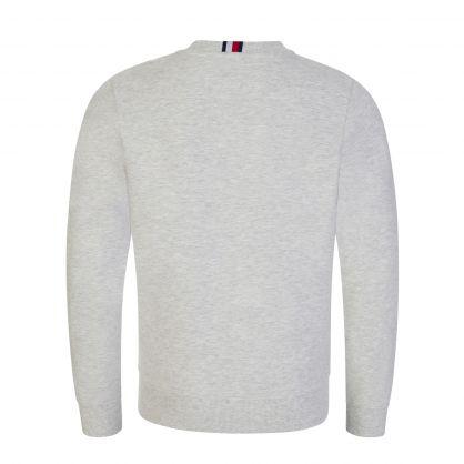 Kids Grey Flag Rib Insert Sweatshirt