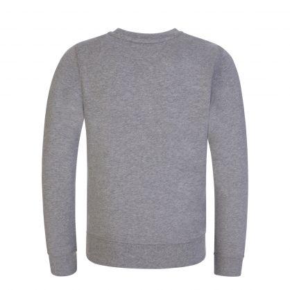 Kids Grey Organic Cotton Logo Sweatshirt