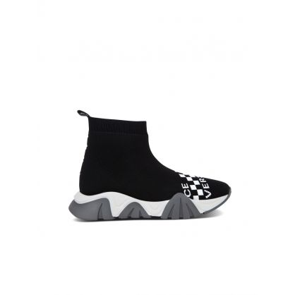 Black Junior Sock Trainers