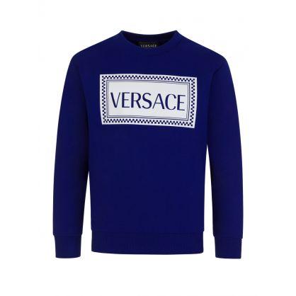 Blue Chest Logo Sweatshirt