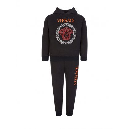 Black Junior Medusa Tracksuit