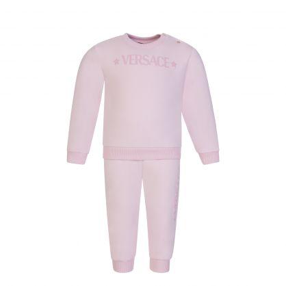 Pink Junior 2-Piece Tracksuit