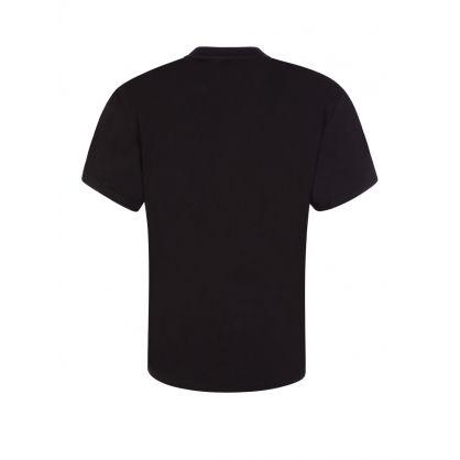 Kids Black Single Bee Bird T-Shirt