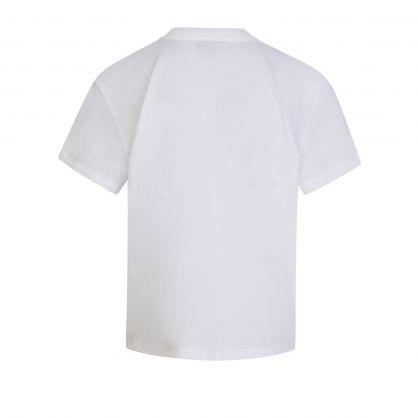 Kids White Rouge Bee Bird T-Shirt