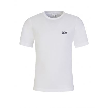 White Chest Logo T-Shirt