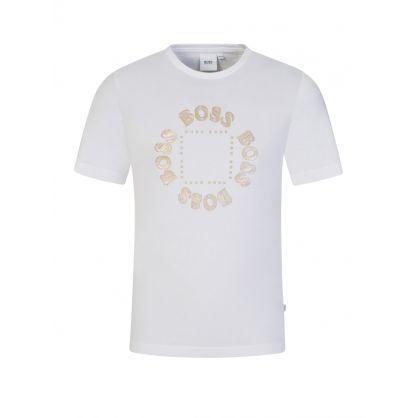 White Triple Gold T-Shirt