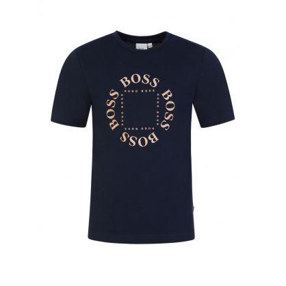 Navy Triple Gold T-Shirt