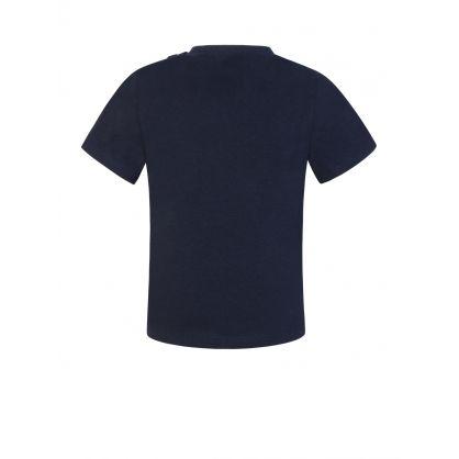 """Navy """"Little BOSS"""" T-Shirt"""