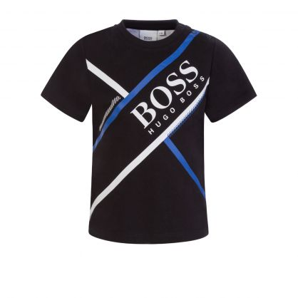 Black Athleisure T-Shirt