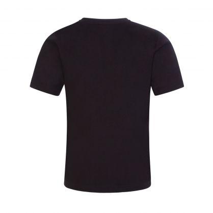 Black/White Athleisure T-Shirt